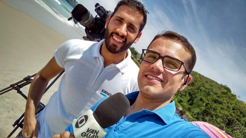 André Luís Rosa, Repórter E Apresentador Da TV Vanguarda