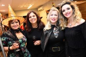 Isabela Ferri, Rosi Lessa, Evanir Ferreira e Patrícia Oliveira