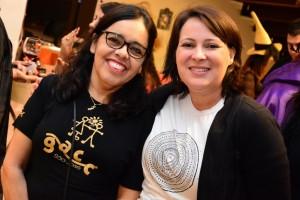 Maria Júlia Marques e Ana Paula Silva, do GACC