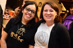 Maria Júlia e Ana Paula, do GACC