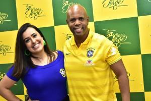 Luana e Bruno Santos
