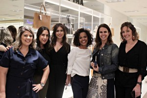 Tatiana Vieira, Fernanda Margutti, Marina Barcelos, Roberta Teodoro, Patrícia Aquino e Isabelle Dunne