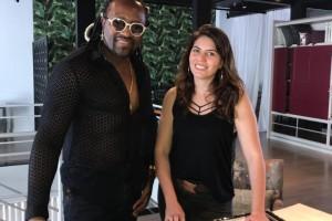Claudinho e Bia Ferreira