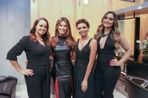 Leila Oliveira, Mari Saad, Auriane Chaves e Jéssica Millany