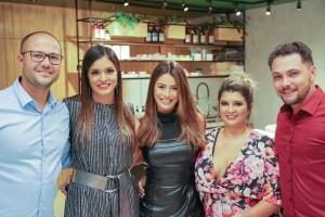 Leonardo e Ana Laura Nogueira, Mari saad, Lívia e Junior Matuno