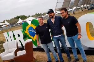 Felipe Thai, Sorocaba e Bruno Alvarenga