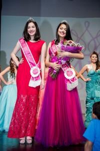 Miss São José dos Campos Juvenil 2014 e 2015, respectivamente