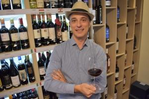 Paolo Faroni, empresário da Enoteca Decanter São José dos Campos