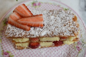 Sobremesa Mil folha de Moranga pela Chef Melissa Tofani