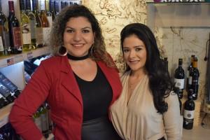 A psicóloga Mariana Marco e a expert em beleza, Fernanda Valadares