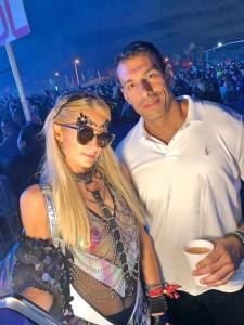 Paris Hilton e Kadu Rachid